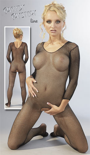 Mandy Mystery Transparent Catsuit
