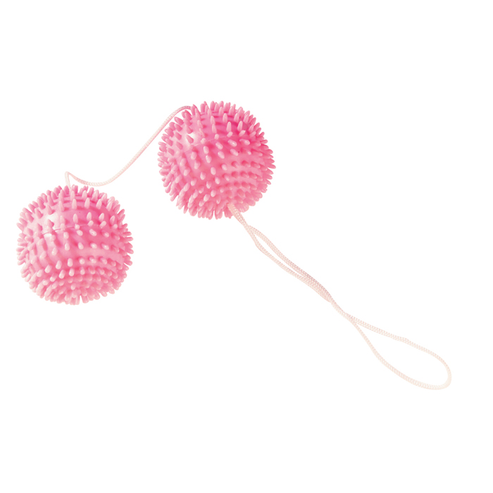 GIRLY GIGGLE LOVE BALLS HOT PINK - 3006009113