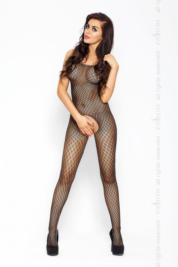 Catsuit Passion BS010 čierny