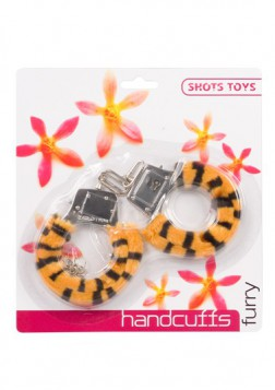 FURRY FUN CUFFS LEOPARD PLUSH - 3006009507