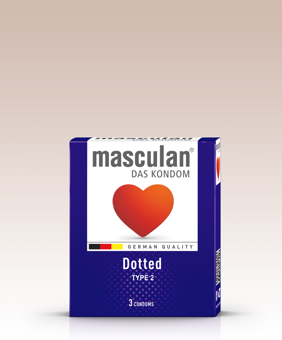 Masculan Dotted 3ks