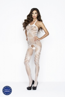Catsuit Passion BS037 biely