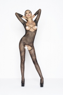 Catsuit Passion BS040 čierny