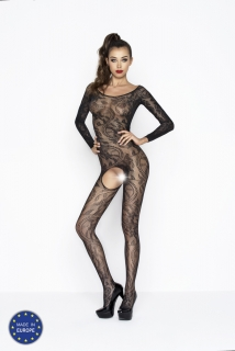 Catsuit Passion BS042 čierny