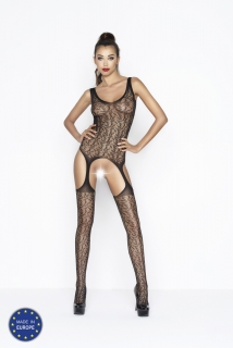 Catsuit Passion BS043 čierny
