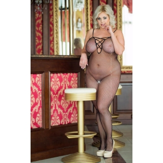 SOFTLINE COLLECTION Bodystocking GRID Plus size