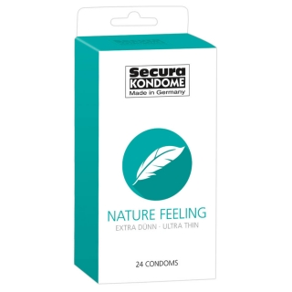 SECURA NATURE FEELING CONDOM (24PCS)