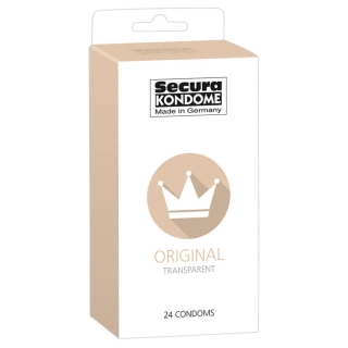 SECURA ORIGINAL CONDOM (24PCS)