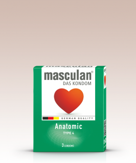 MASCULAN Anatomic 3ks