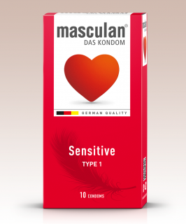 Masculan Sensitive 10ks