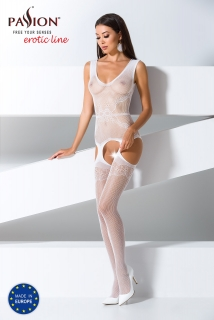 Passion Bodystocking BS062 White