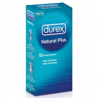 DUREX NATURAL PLUS 12 ks