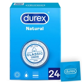 DUREX NATURAL PLUS 24 ks