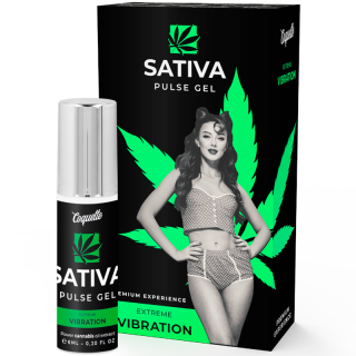 COQUETTE PULSE GEL SATIVA EXTREME VIBRATION PREMIUM 6 ml